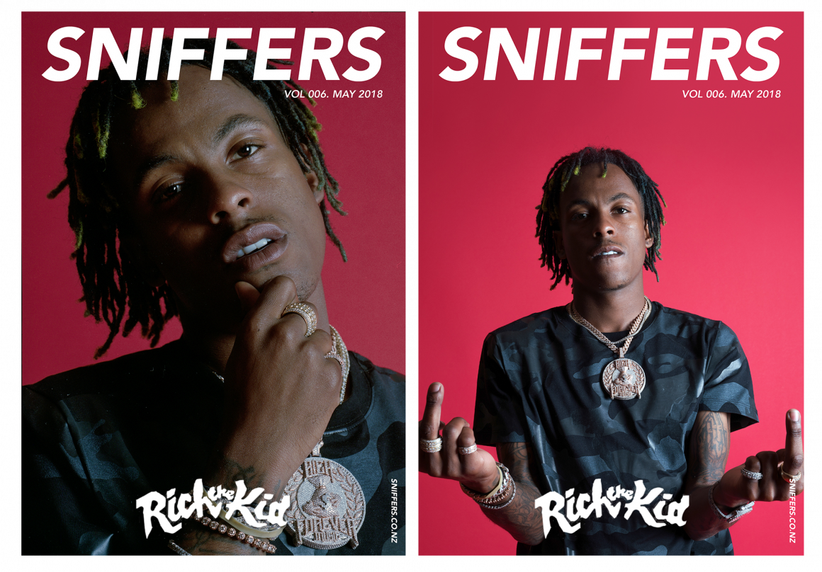 Rich the Kid: SNIFFERS Cover